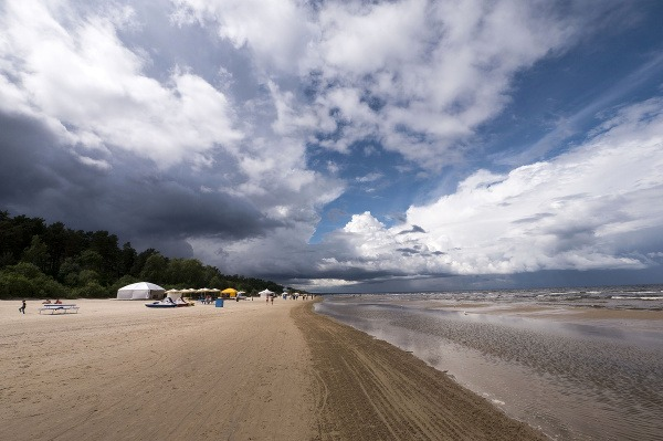 Pláž Jurmala