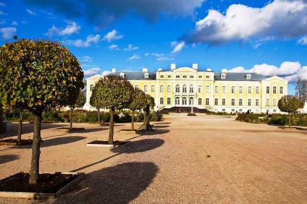 Palác Rundale, Lotyšsko