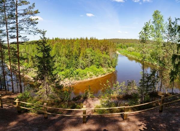 Národný park Gauja, Lotyšsko