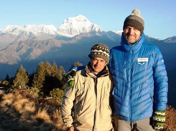 S nepálskym vodcom Padamom