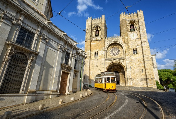 Katedrála, Lisabon, Portugalsko