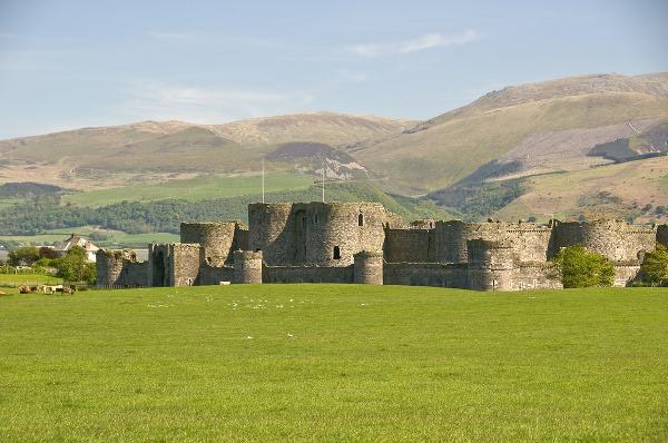 Hrad Beaumaris, Wales