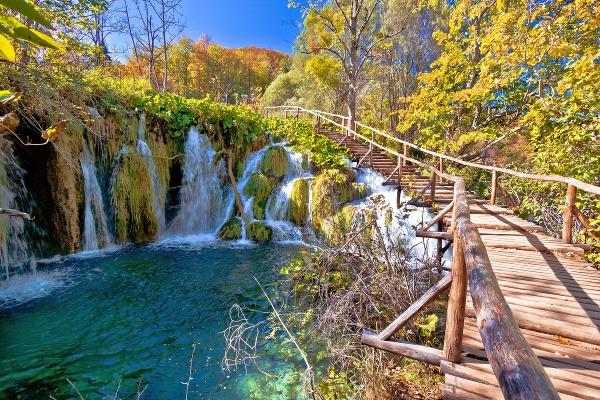 Plitvické jazerá, Chorvátsko