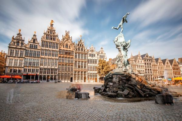 Antverpy, Belgicko