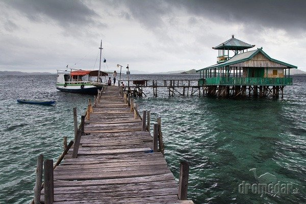 Ostrov Komodo, Indonézia