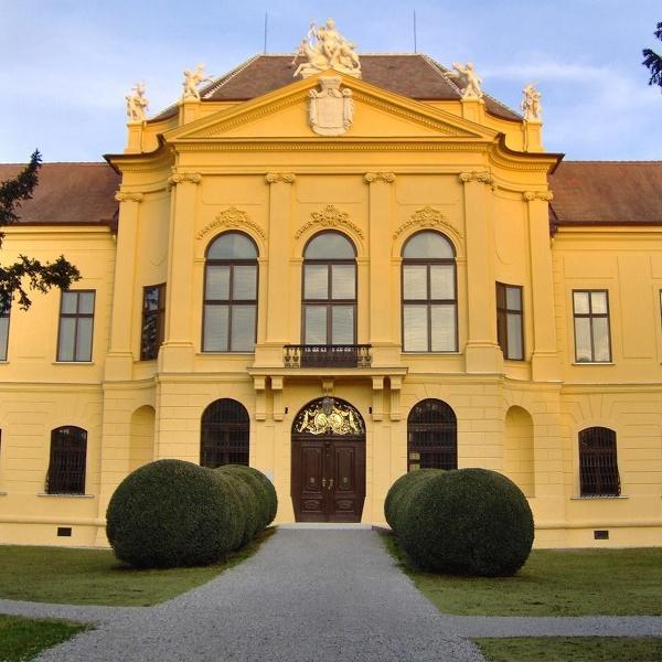 Rakúsky zámok Eckartsau