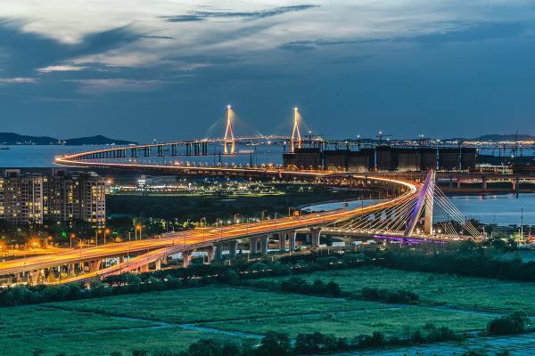 Most Inčchon, Južná Kórea