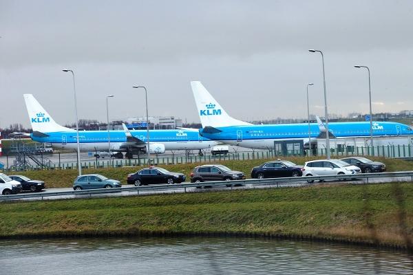 Letisko Schiphol, Amsterdam, Holandsko