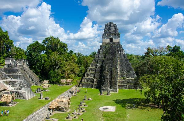 Mayské pamiatky v Guatemale