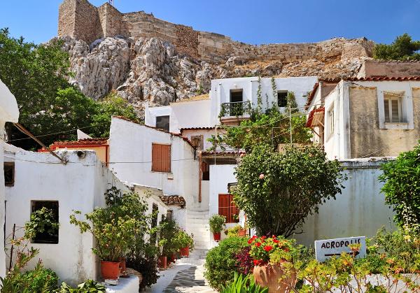 Anafiotika, Atény, Grécko