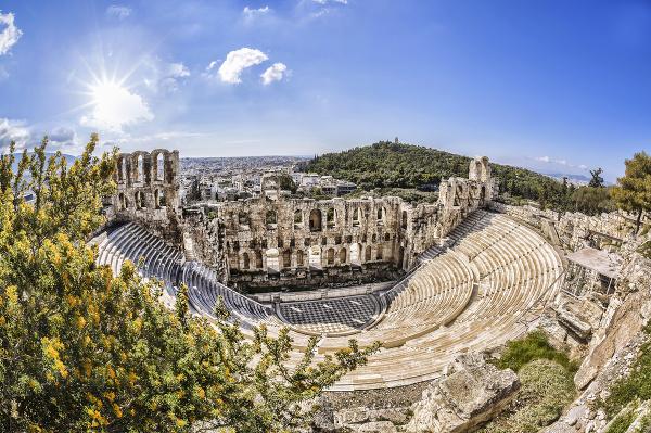 Odeon Herodesa Attica, Atény,