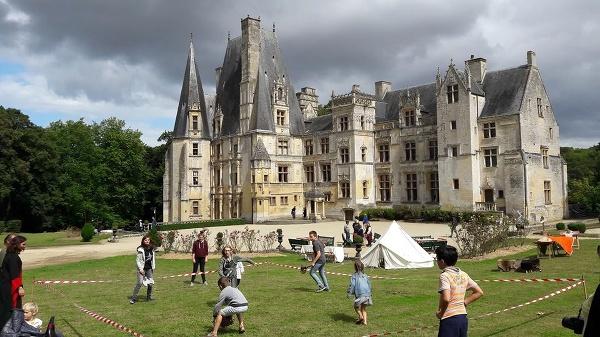 Château de Fontaine-Henry, Francúzsko