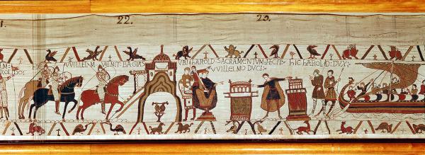 Tapiséria z Bayeux, Francúzsko