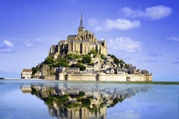 Mont Saint-Michel, Francúzsko