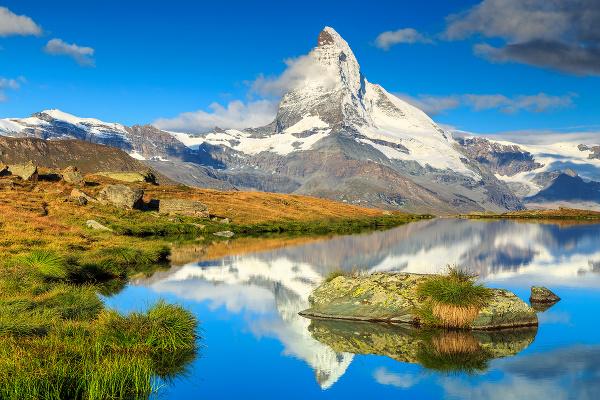 Matterhorn, Švajčiarsko a Taliansko