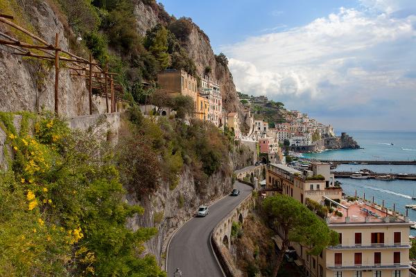 Pobrežie Amalfi, Taliansko