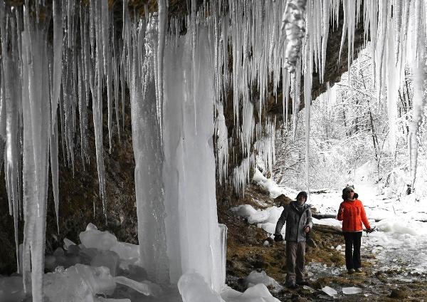 Ľadopád Šikľavá skala