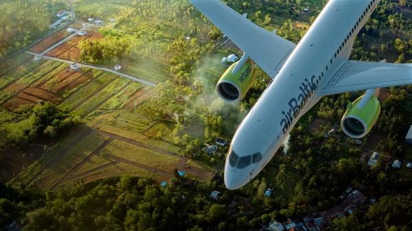 Lietadlo airBaltic