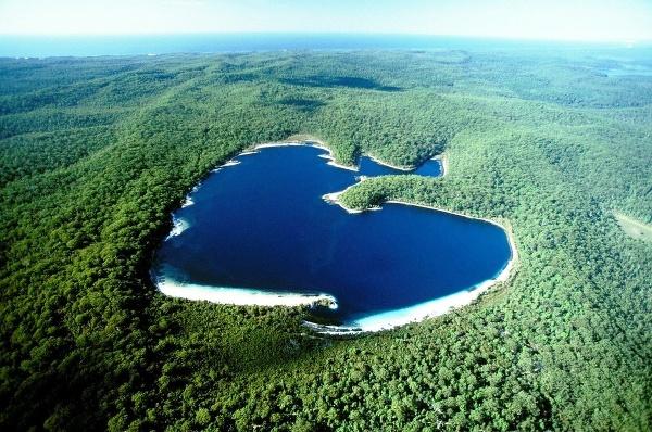 Lake McKenzie, Fraser Island,