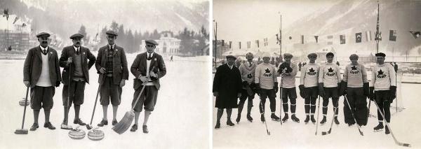 Účastníci prvých zimných olympijských