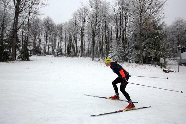 Zima na Slovensku: Stred
