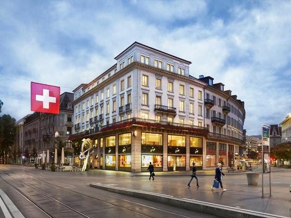 Cukráreň v Zürichu