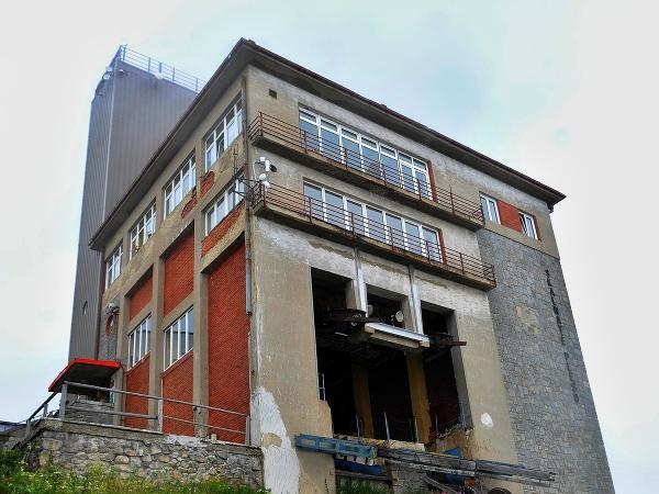 Budova Encián na Skalnatom