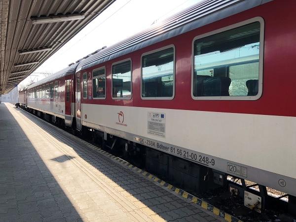 Cesta vlakmi InterCity na