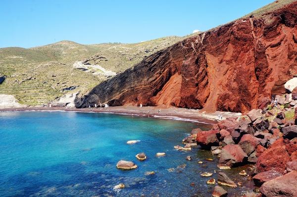 Kokkini Beach, Grécko