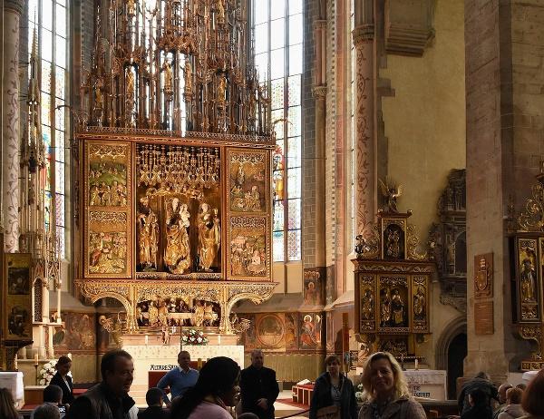 Oltár v Levoči