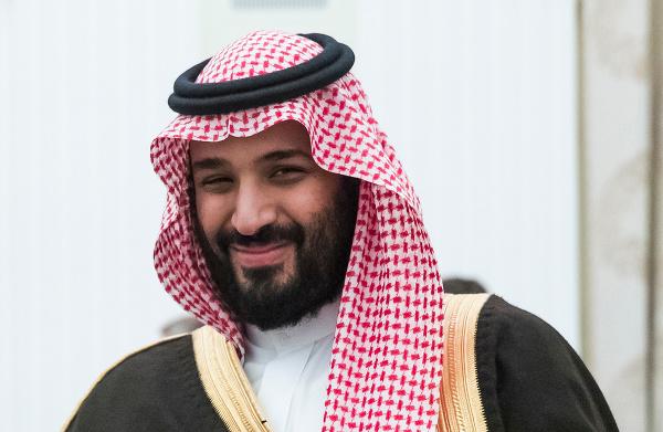 Saudskoarabský korunný princ Muhammad