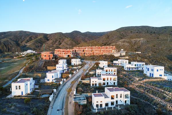 Opustené domy v Španielsku