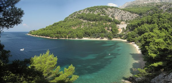 Živogošće a pláž Velika
