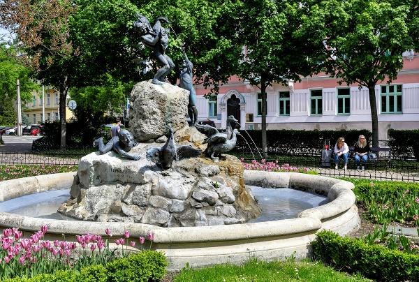 V Bratislave spustili fontány