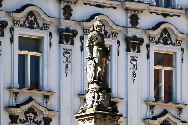 Socha na Maximiliánovej fontáne,