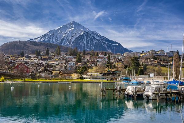 Jazero Thun, Švajčiarsko