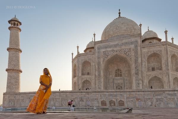 Tádž Mahal, India