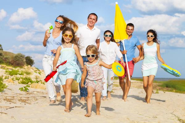 Rodinná  dovolenka bez