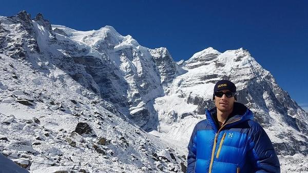 Austrálsky horolezec Steve Plain