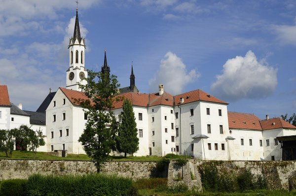 Kláštor Vyšší Brod, Česká