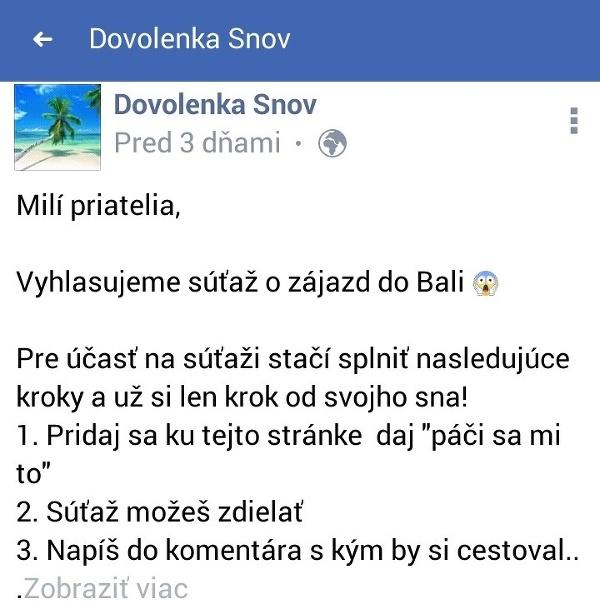 Slováci, pozor! Na internete