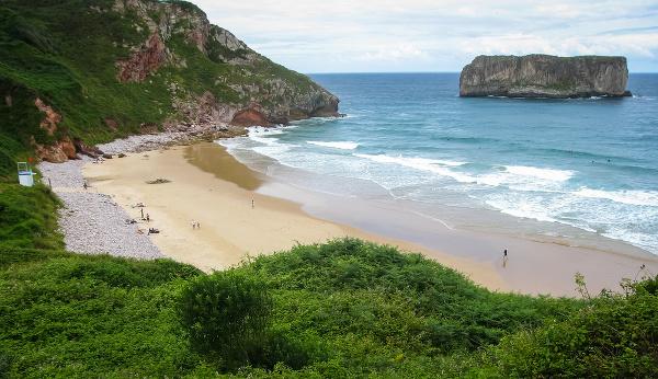 Pláž Andrin, Španielsko