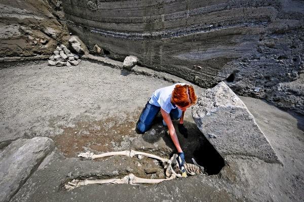 Nový nález v Pompejach: