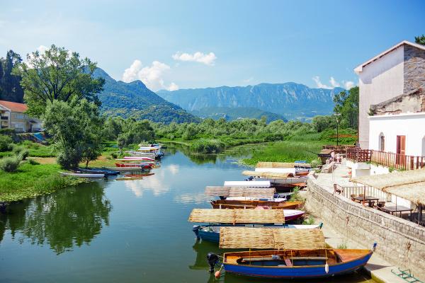 Skadarské jazero, Čierna Hora