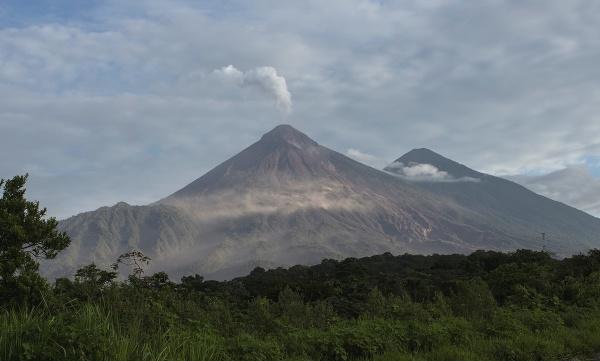 Pohľad na sopku Volcán