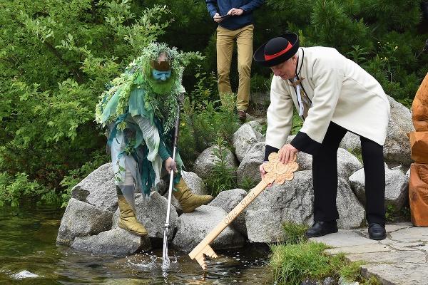 Slávnostné odomykanie vôd Štrbského