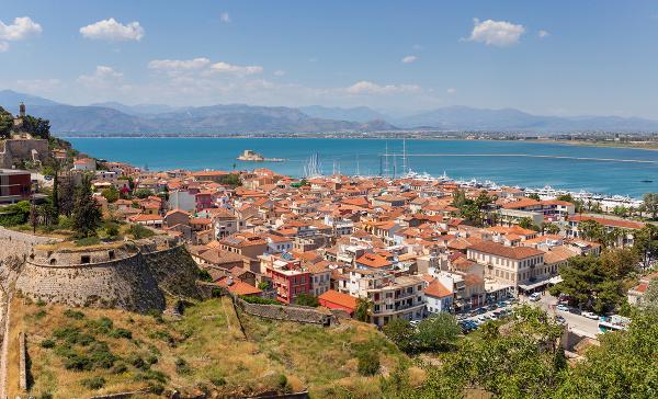 Nafplio, Peloponéz, Grécko