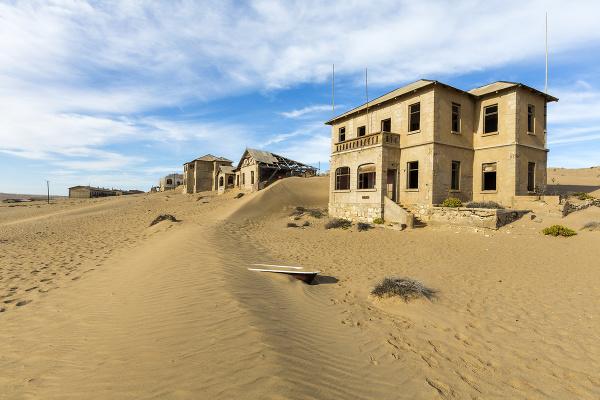 Kolmanskop, Namíbia