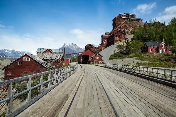 Kennecott, Aljaška, USA
