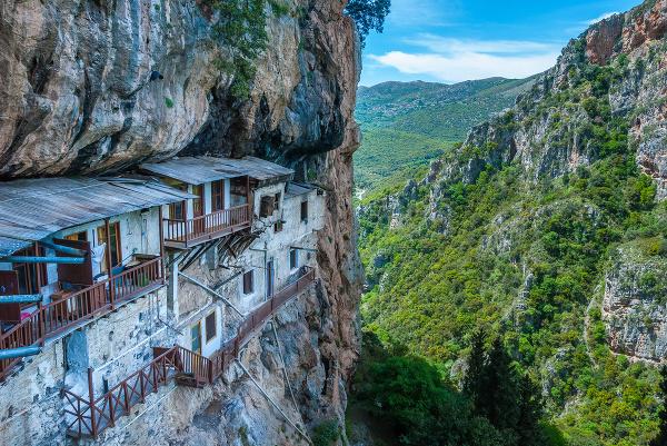 Menalon Trail, Grécko